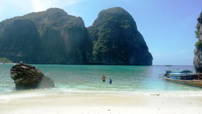 Une magnifique plage en Thailande
