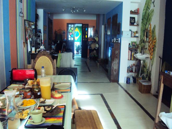Comme à la maison à la Pousada Esmeralda à Salvador de Bahia