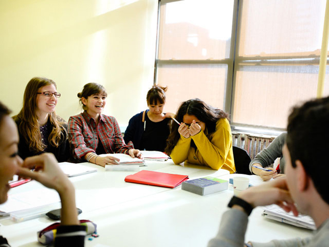 Cours de langue dans une des écoles partenaire de ESL – Séjours linguistiques