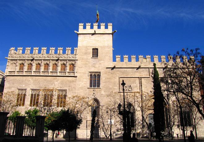 La Lonja de la Seda à Valence