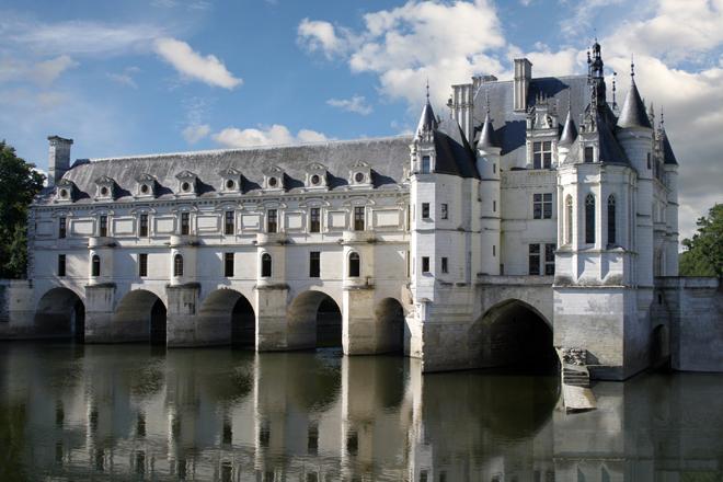 L'original et magnifique château de Chenonceau