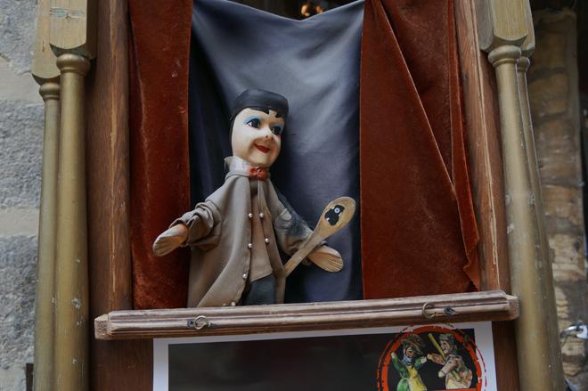La marionnette Guignol un des autres symboles de Lyon