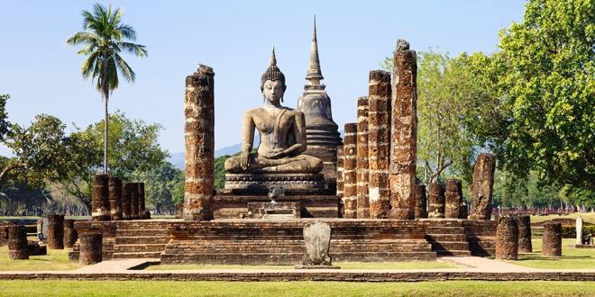 visite du parc historique de sukhothai en tha u00eflande