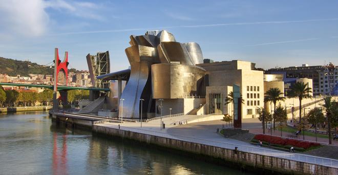 L'étonnant musée Guggenheim de Bilbao