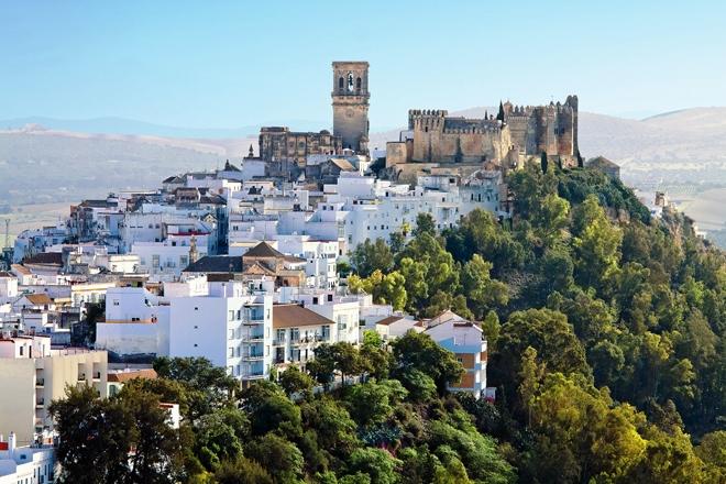 Arcos de la Frontera l'un des villages blancs incontournable en Andalousie