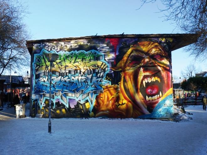 La ville libre de Christiania à Copenhague