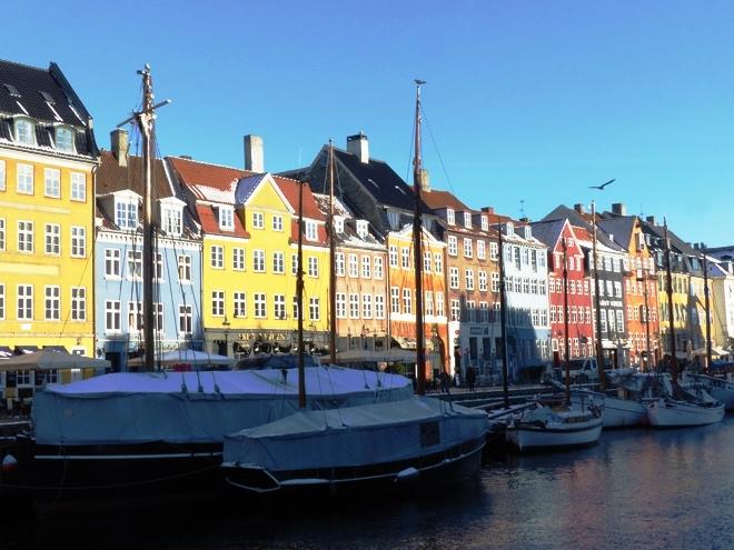 Les maisons colorées de Nyhavn à Copenhague