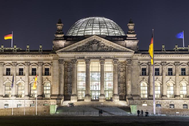 Le Palais du Reichtag à Berlin