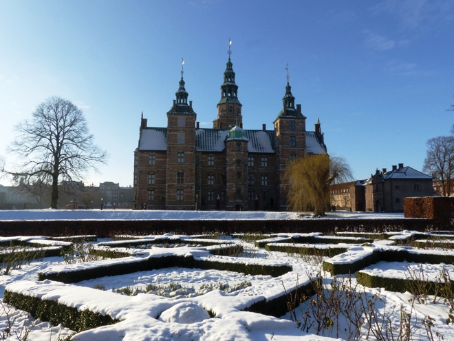 Rosenborg Slot l'autre chateau royal de Copenhague