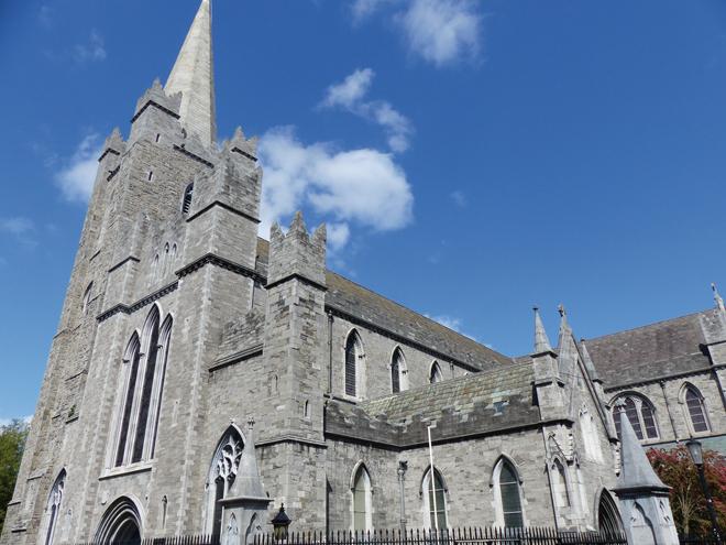 La Cathédrale Saint Patrick à Dublin