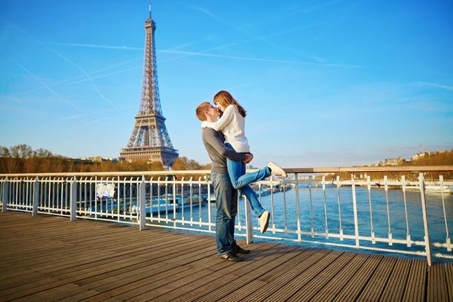 Passer la Saint Valentin à Paris au pied de la Tour Eiffel