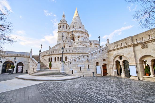 Le bastion des pecheurs à Budapest