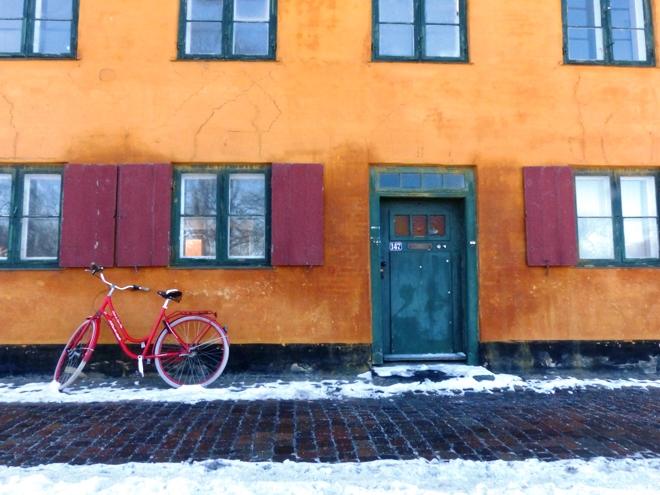 Les maisons colorées de Nydober à Copenhague