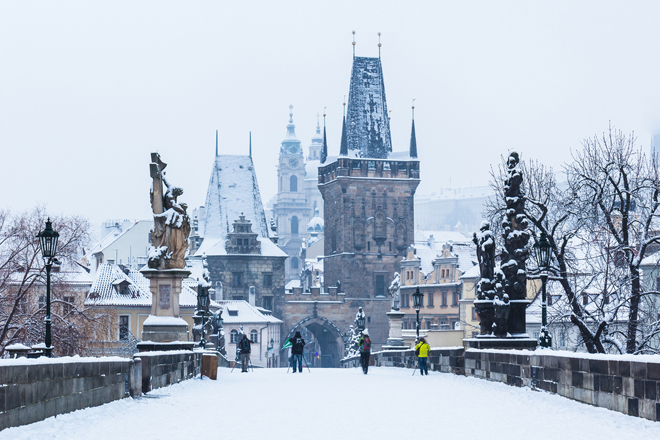 Prague destination romantique en Europe