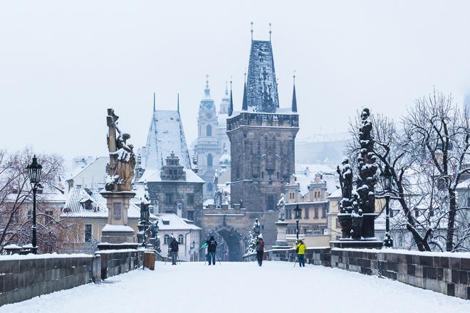 Prague destination romantique en Europe