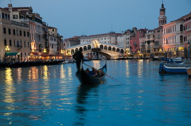 Tour en gondole sur le Grand Canal de Venise