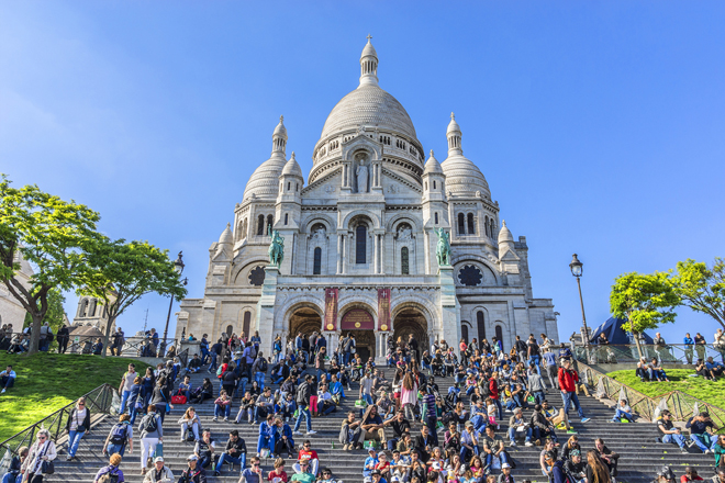 Le Sacré-Cœur une des plus belles vues sur Paris
