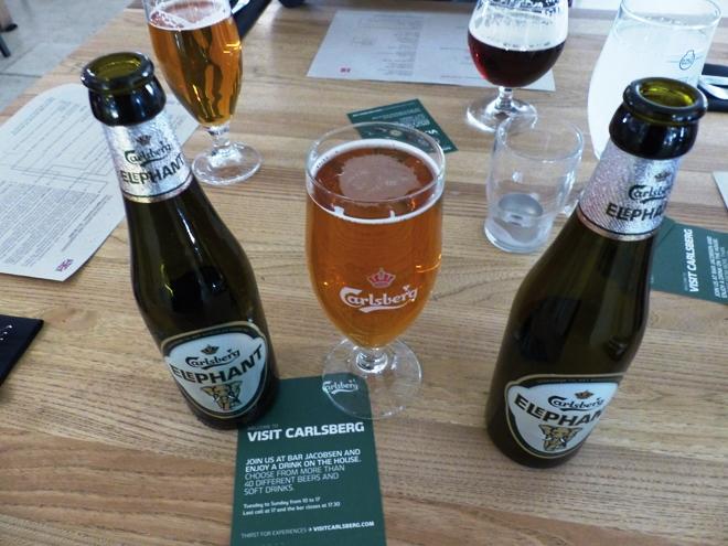 Carlsberg la marque de bière phare au Danemark