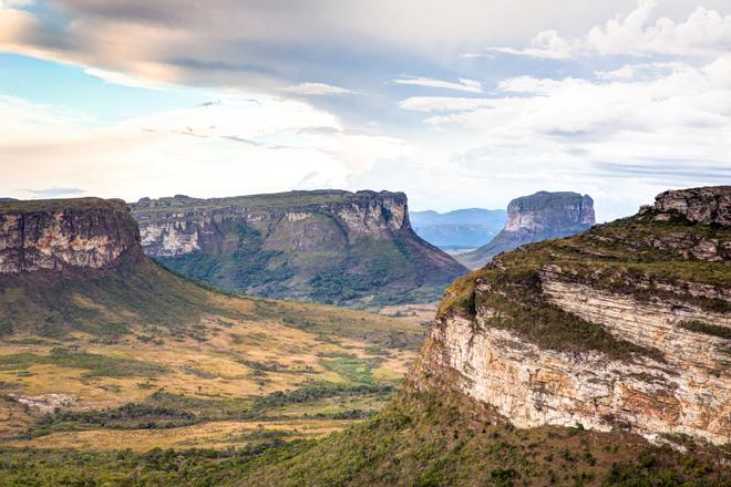 Le Parque Nacional da Chapada Diamantina au Brésil