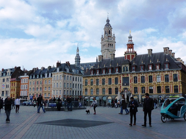 Grand Place de Lille balade gourmande
