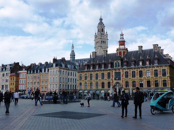 Grand Place de Lille balade gourmande