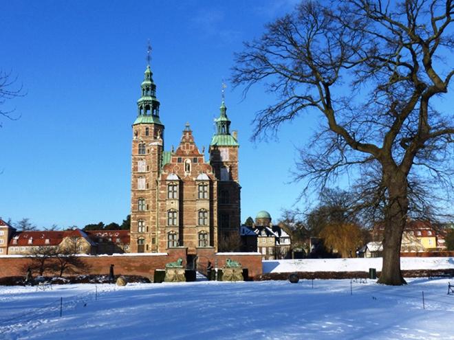 Un des chateaux royaux de Copenhague : Rosenborg Slot