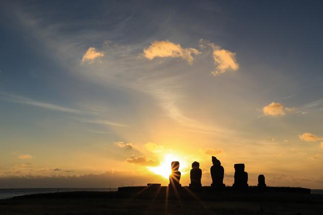 L'Île de Pâques au Chili, un rêve de gamin