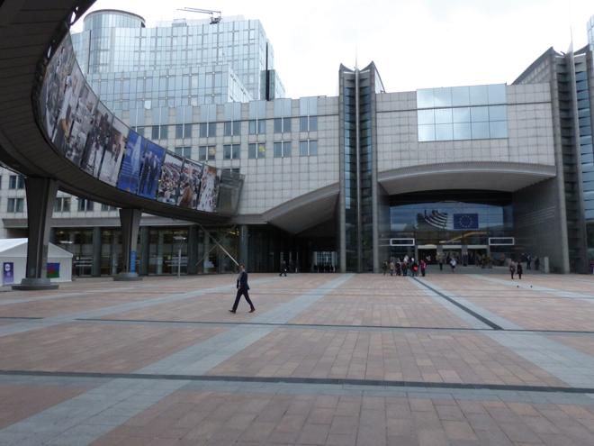 Le Parlement européen de Bruxelles