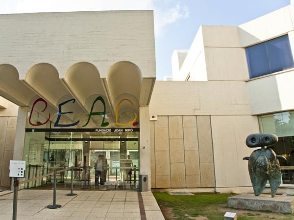 Fondation Miro Barcelone entrée