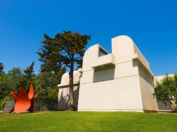 Fondation Miro Barcelone jardin