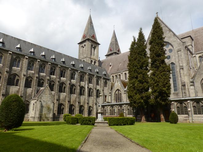 L'Abbaye de Maredsous, l'une des plus importantes abbayes de Belgique