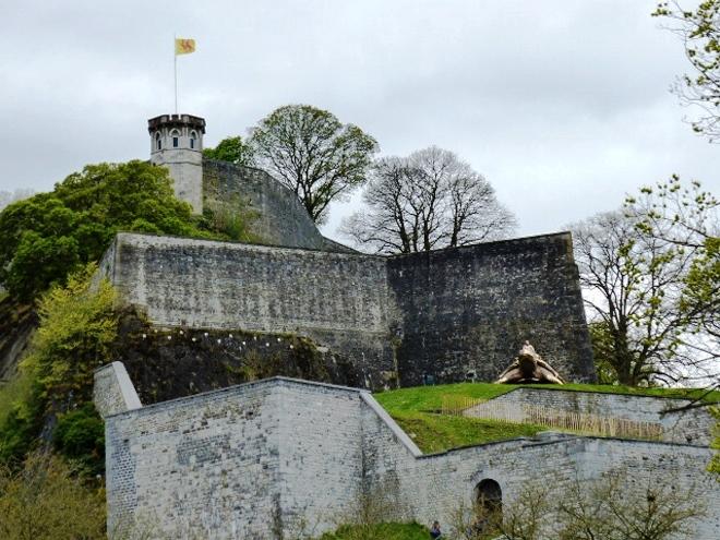 L'imposante citadelle de Namur
