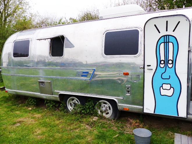 street art caravane insolite americaine