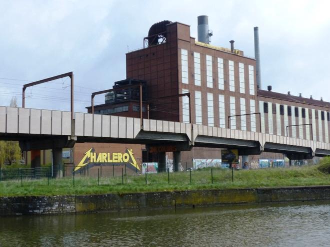 Charleroi, une ville industrielle où le street art est omniprésent