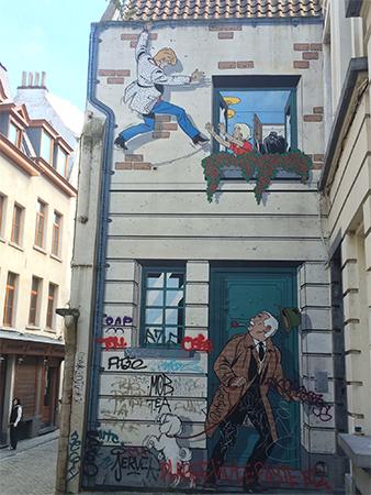 BD Street Art Bruxelles bon secours