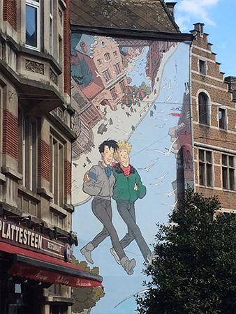 BD Street Art Mouette