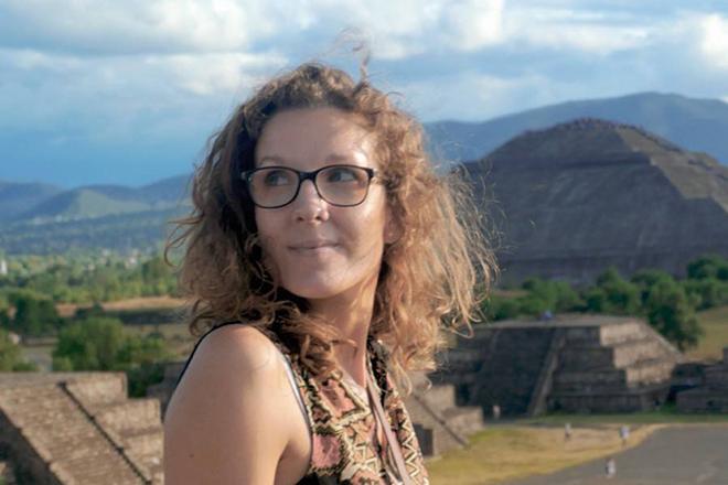 Pauline du blog Graine de voyageuse part faire le tour du monde