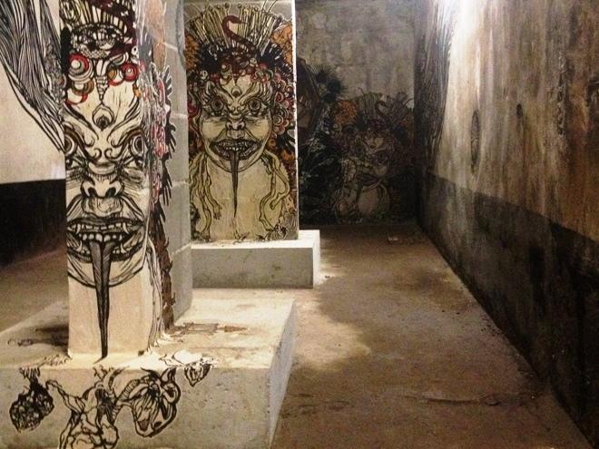 Même dans les souterrains du Mima il y a des œuvres