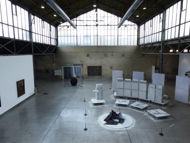 La salle principale du musée BPS22 de Charleroi