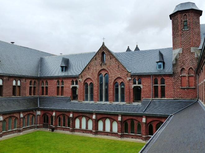 Le musée de la photographie de Charleroi est installé dans un ancien carmel