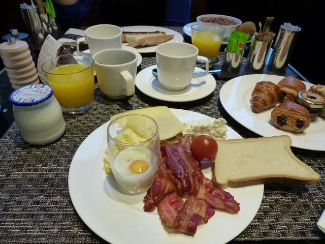 Super petit déjeuner au Pullman de Bruxelles