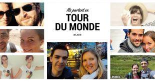 Les blogueurs voyageurs qui partent faire le tour du monde en 2016