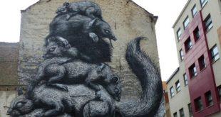 Street Art Ostende Citytrip Belgique
