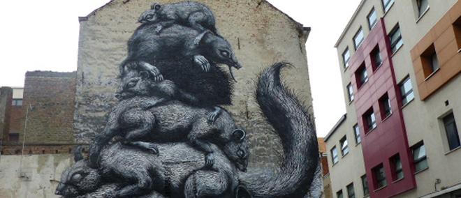 Découvrir le street-art à Ostende