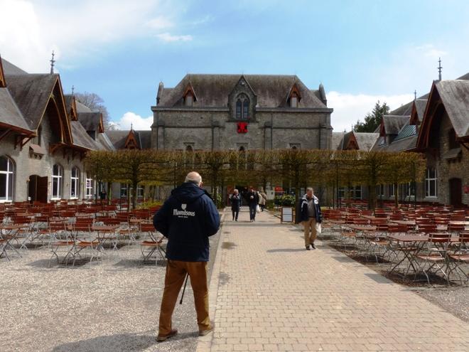 Le Centre d'accueil de l'Abbaye de Maredsous