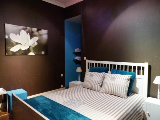 Une des 3 chambres du Bed & Breakfast De Nacht Wacht à Ypres