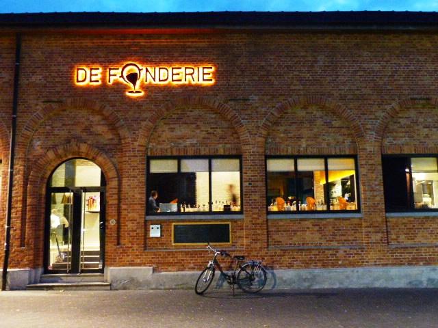 De Fonderie un restaurant semi-gastronomique à Ypres