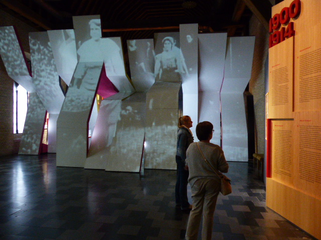 Le in Flanders Museum, un musée interactif sur la 1ere guerre mondiale à Ypres