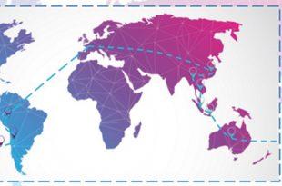 Itinéraire théorique de notre tour du monde