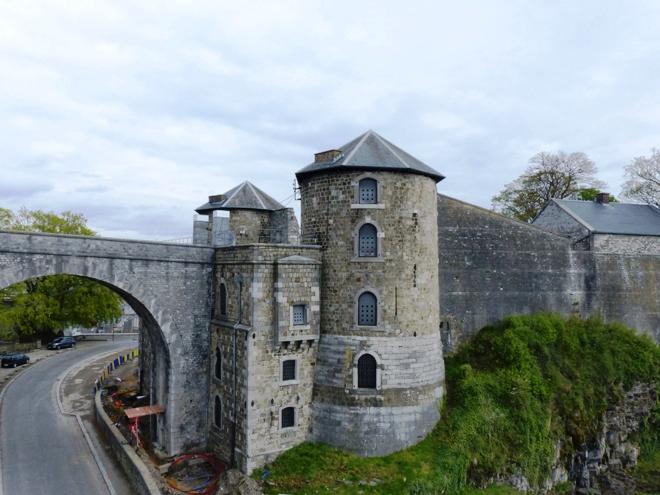 Une des portes de la Citadelle de Namur